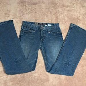 5R Low Rise Cruel Girl Boot Cut Jeans